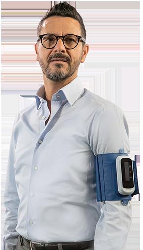 Holter Pressorio indossato di Medea Telemedicina
