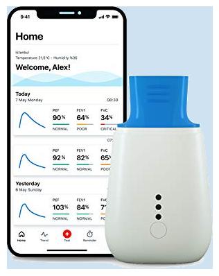 Spirometro Medea Telemedicina